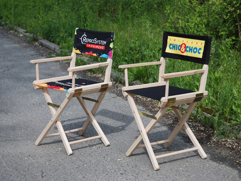 Promotional Director Chairs print
