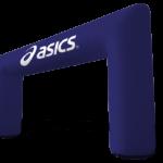 rectangular advertising gate