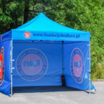 advertising, event, commercial tent, with print