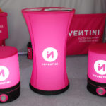 constant pressure, pneumatic, advertising inflatable tables with print, catering tables, gastronomic table, gastronomic tables, event and fair tables, Pascal Line, advertising materials manufacturer Inventini