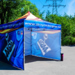 Tents for trade fairs, trade fairs, advertising tents, exhibition tents