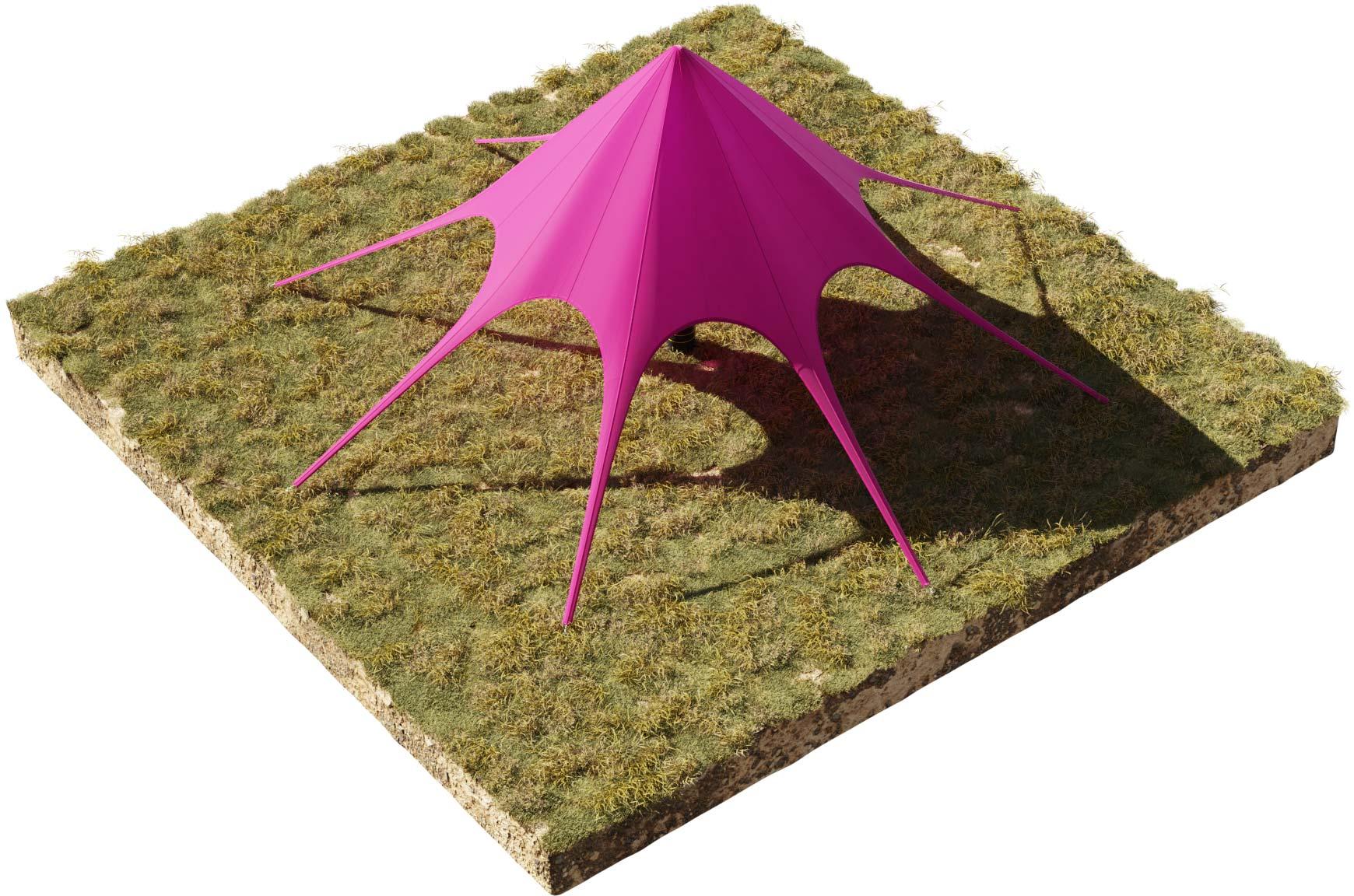 namiot gwiazda na eventy - również noce