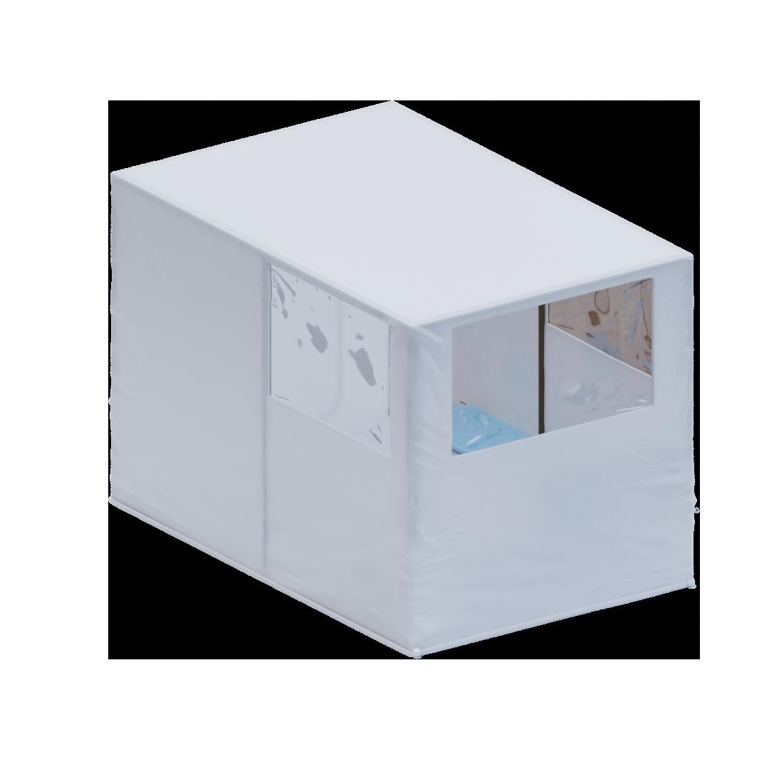 Mobilny gabinet, izolatka lub pomieszczenie do obserwacji pacjenta po szczepieniu