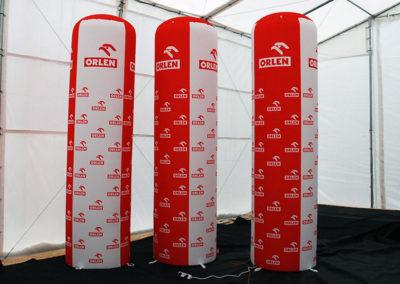Fan Inflatable Pillars